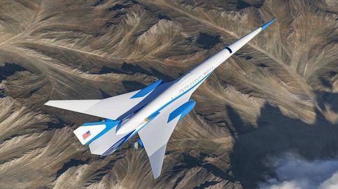 Este será el nuevo avión supersónico para el presidente de EEUU