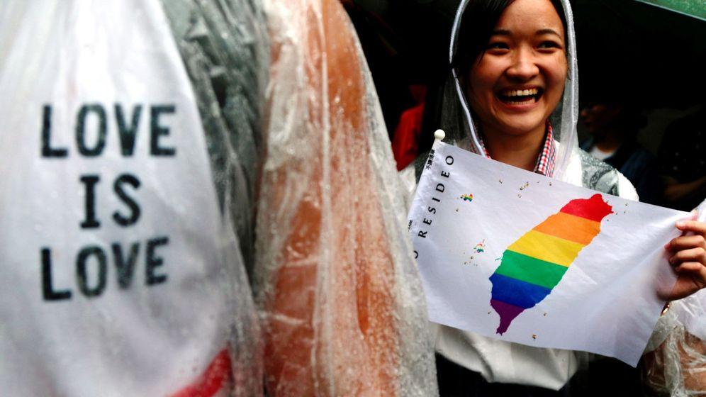 Foto: Taiwán se convierte en el primer país de Asia en legalizar el matrimonio gay