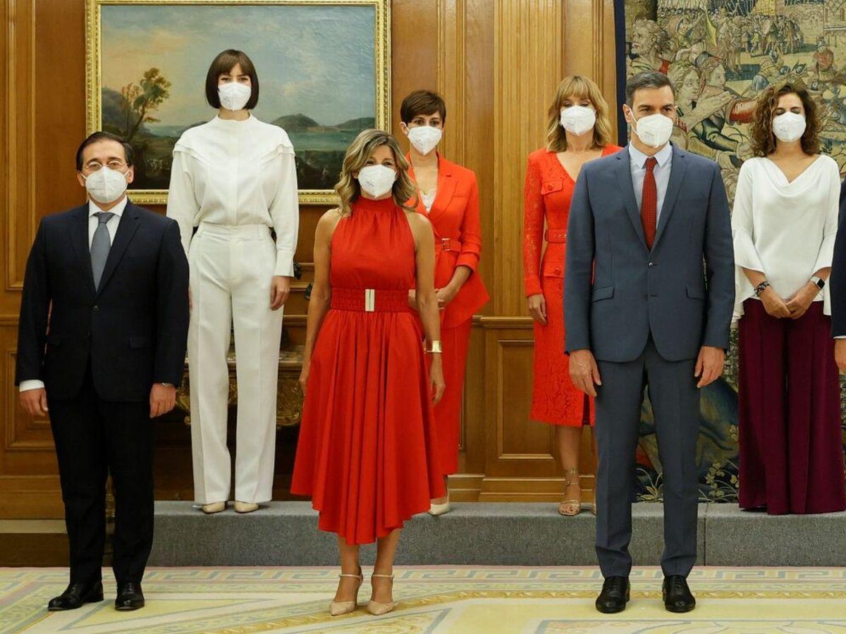 Foto: Toma de posesión de los nuevos ministros del Gobierno. (EFE)