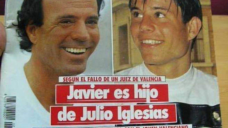 Javier Sánchez y Julio Iglesias en la portada de 'Semana'.