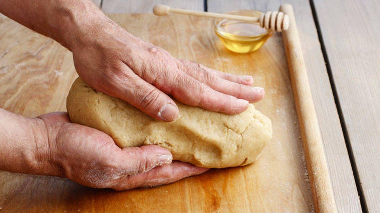 No es necesario un esfuerzo sobrehumano para amasar el pan