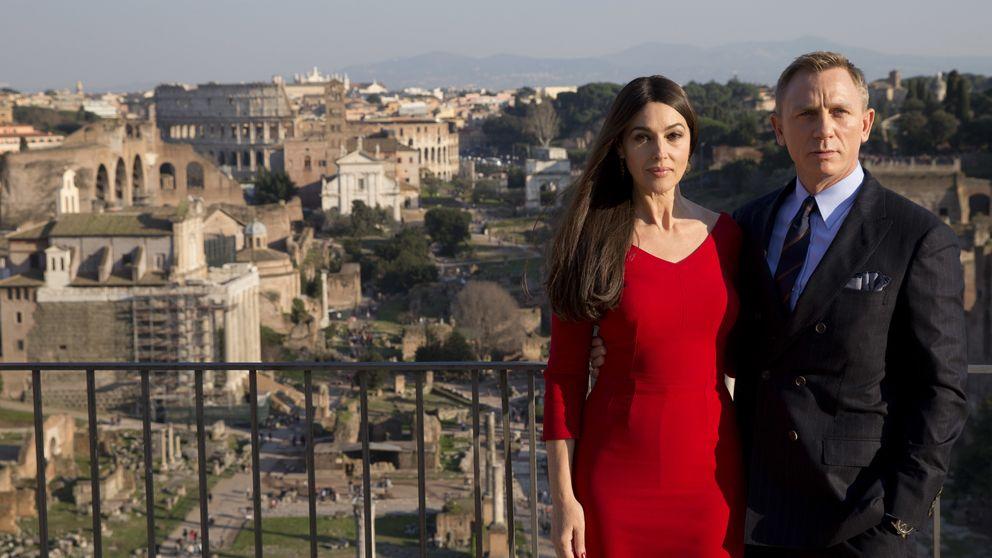 Daniel Craig y Monica Bellucci 'se presentan' en Roma