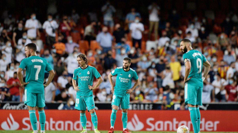 El Madrid sufrió en Mestalla. (Reuters)