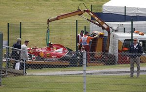 De la Rosa y Bianchi sustituirán a Raikkonen en los test de Silverstone