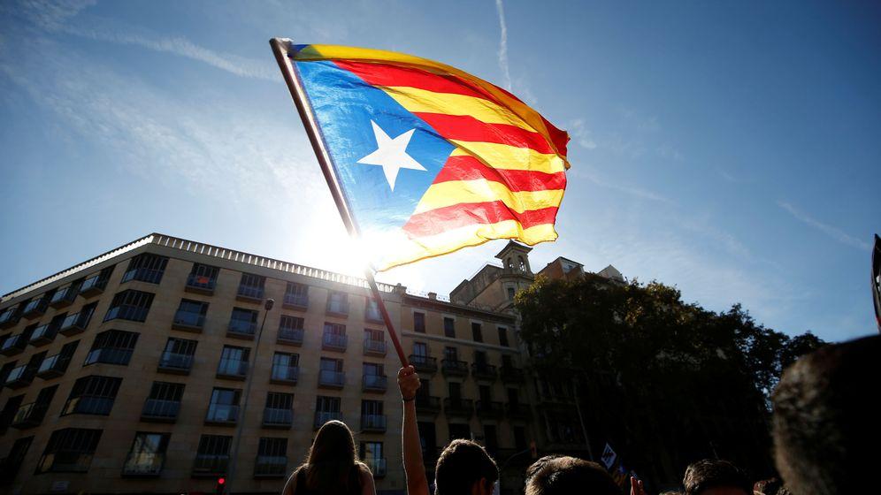 Foto: Protestas independentistas en Barcelona. (Reuters)