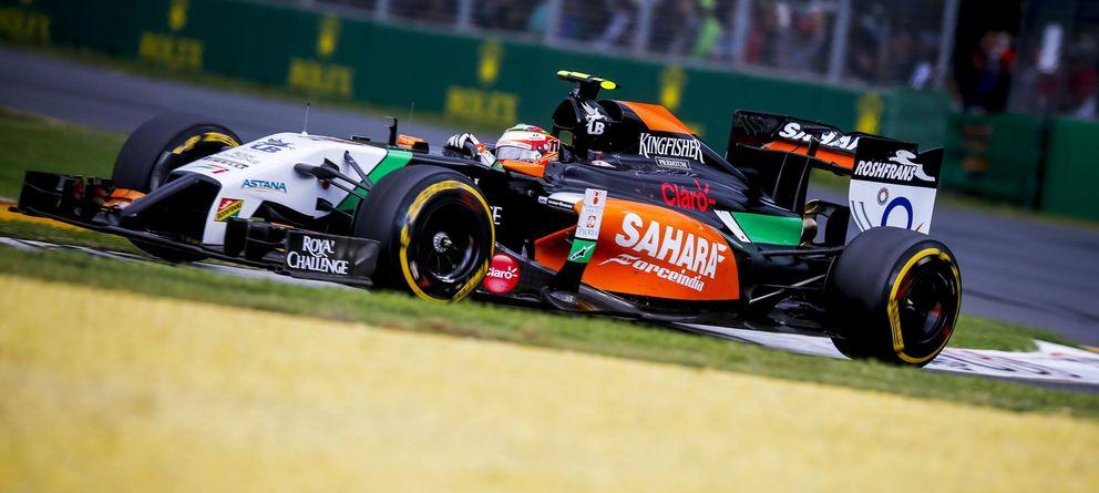 Foto: Sergio Pérez el pasado domingo en el circuito de Albert Park.