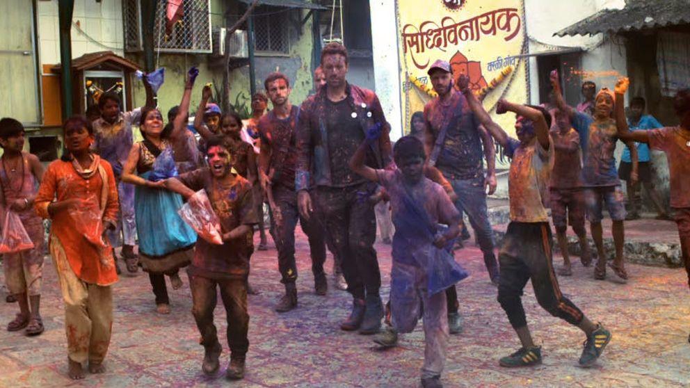 El videoclip de Coldplay y Beyoncé que enfada a los indios
