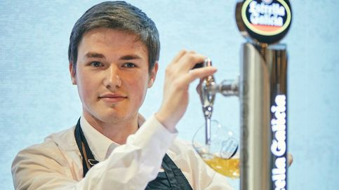 El mejor tirador de cerveza de España es un compostelano de 20 años