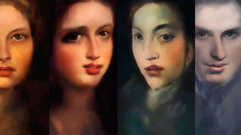El algoritmo entrenado con porno y clásicos que pinta fascinantes retratos en directo