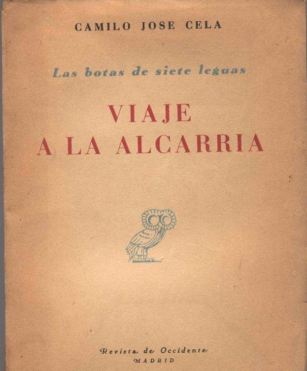 Foto: Primera edición de 'Viaje a la Alcarria' (1948)