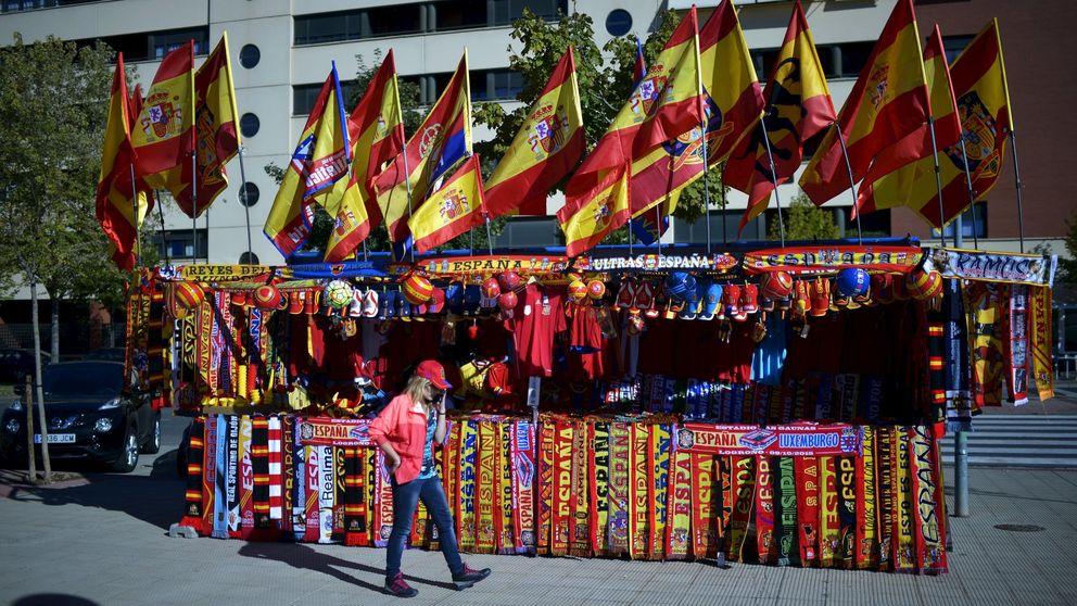 Una asociación repartirá banderas españolas antes de la final de Copa