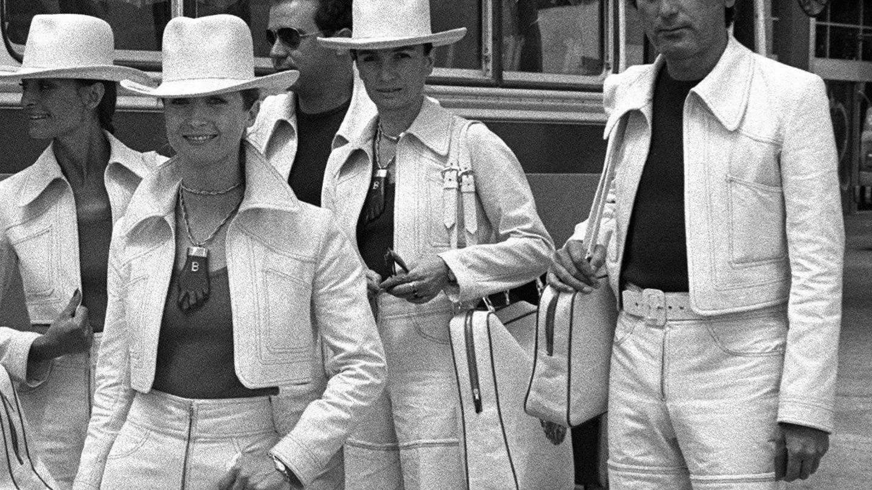 Charo Palacios, con Elio Berhanyer en 1972. (EFE)