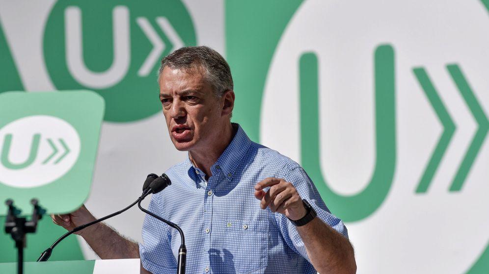Foto:  El lendakari y candidato a la reelección, Iñigo Urkullu. (EFE)