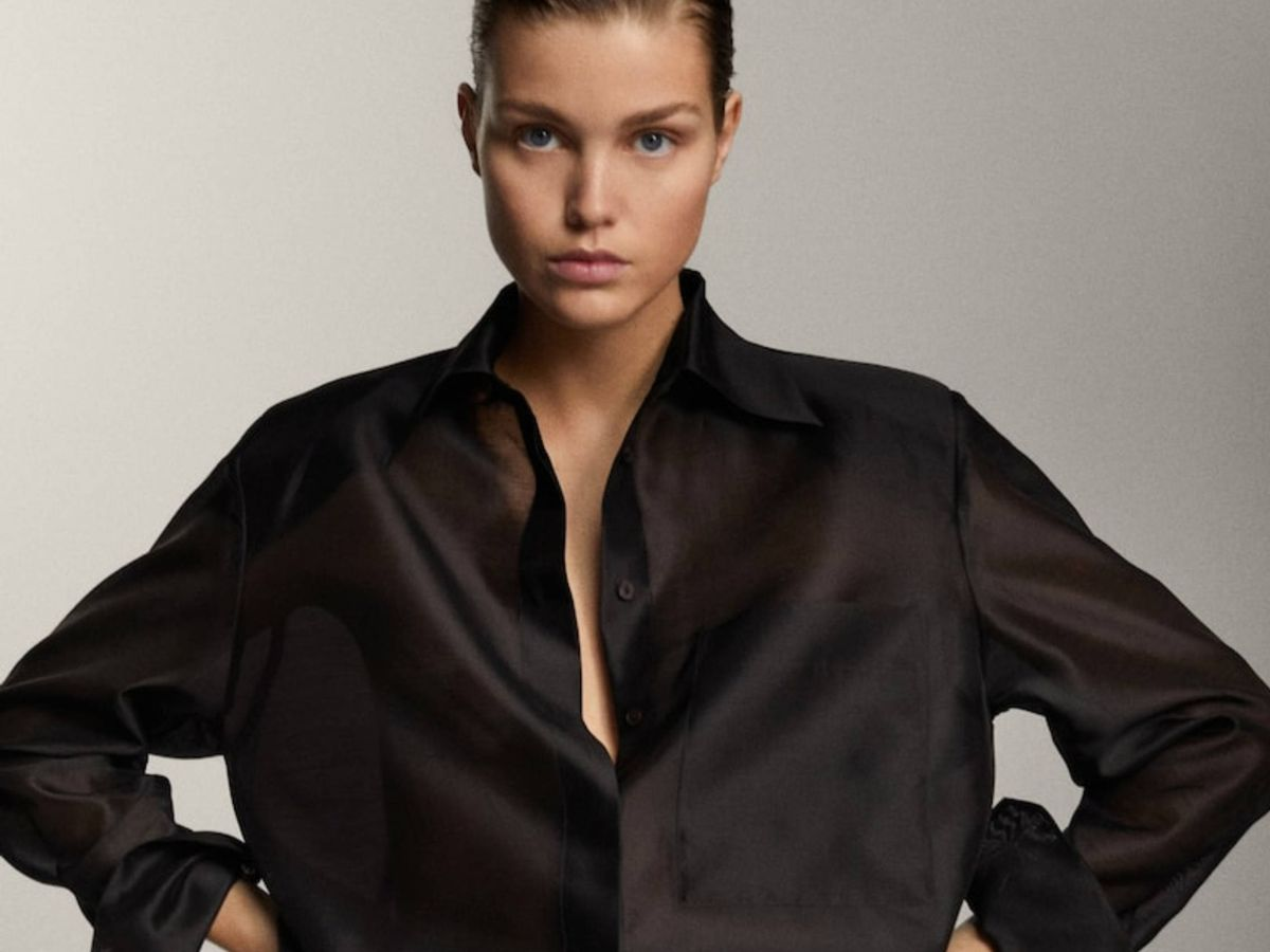 Foto: La camisa de Massimo Dutti. (Cortesía)