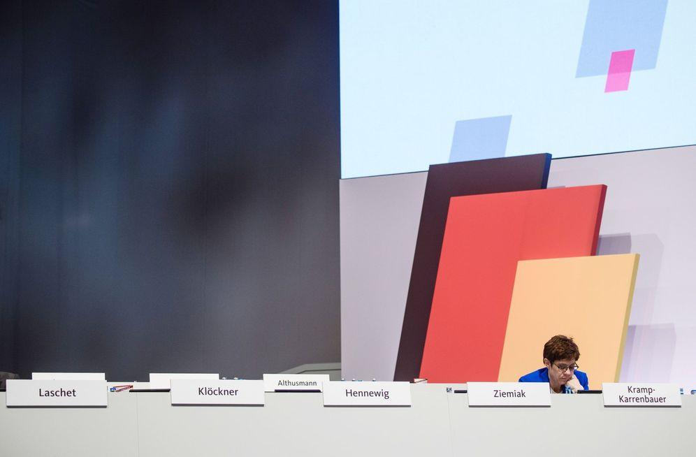 Foto: El dilema alemán. (Clemens Bilan/EFE)