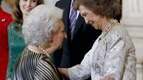 La reina Sofía y la infanta Pilar, al final cuñadas bien avenidas