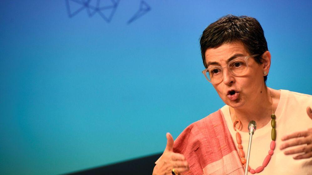 Foto: La ministra española de Asuntos Exteriores, Unión Europea y Cooperación, Arancha González Laya. (EFE)