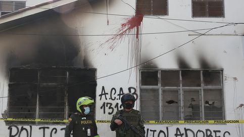 Manifestación del paro Nacional en Popayán, Colombia