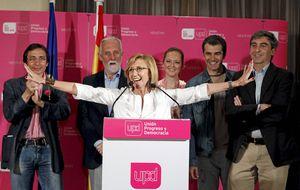 El PP cae 1,9 puntos pero es UPyD quien recoge casi todos sus votos