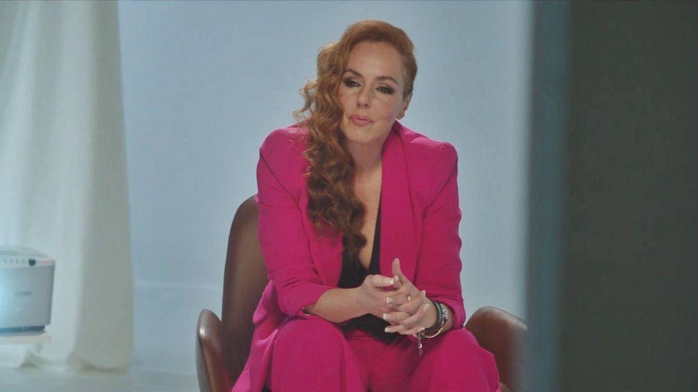 Rocío Carrasco, en la serie documental de su vida. (Mediaset España)