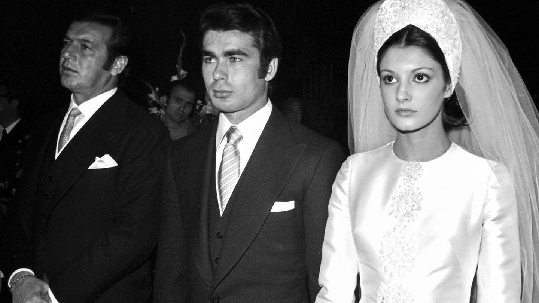Carmina Ordóñez y Paquirri, el día de su boda. (Getty)