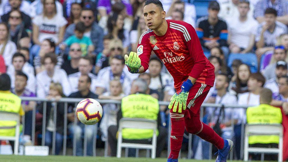 Las mentiras sobre Keylor Navas contadas en el Real Madrid