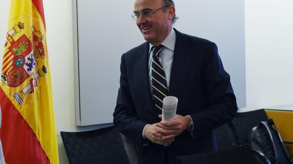 Foto: De Guindos, ministro de Economía español (EFE)