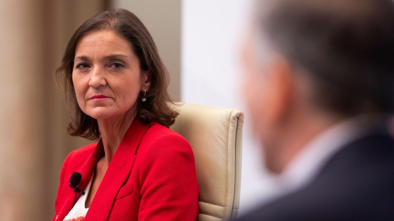 La ministra de Turismo, Reyes Maroto. (EFE)