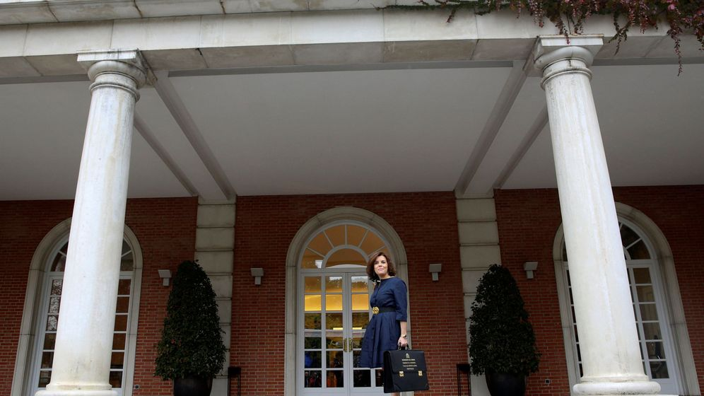 Foto: La vicepresidenta del Gobierno, Soraya Sáenz de Santamaría. (Reuters)