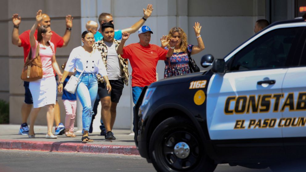 Imágenes de los dos tiroteos en Estados Unidos