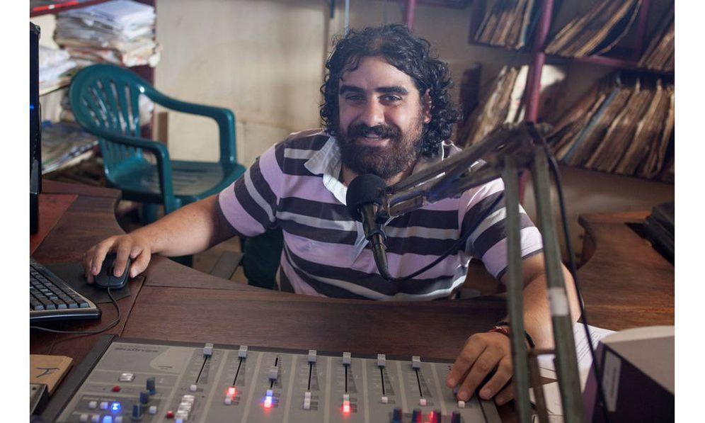 Foto: César González Villar, director de Radio Madre de Dios, radio del Vicariato Apostólico de Puerto Maldonado. Foto: CAAAP