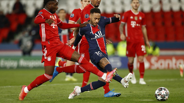 El PSG de Neymar y Mbappé resiste el aluvión del Bayern y deja fuera al campeón (0-1)