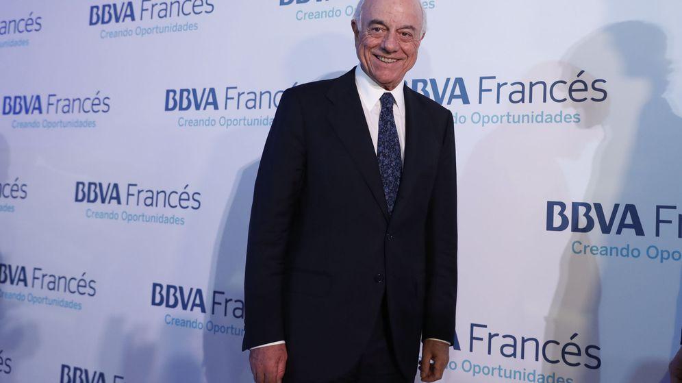 Foto: El presidente de BBVA, Francisco González, en Buenos Aires. (EFE)