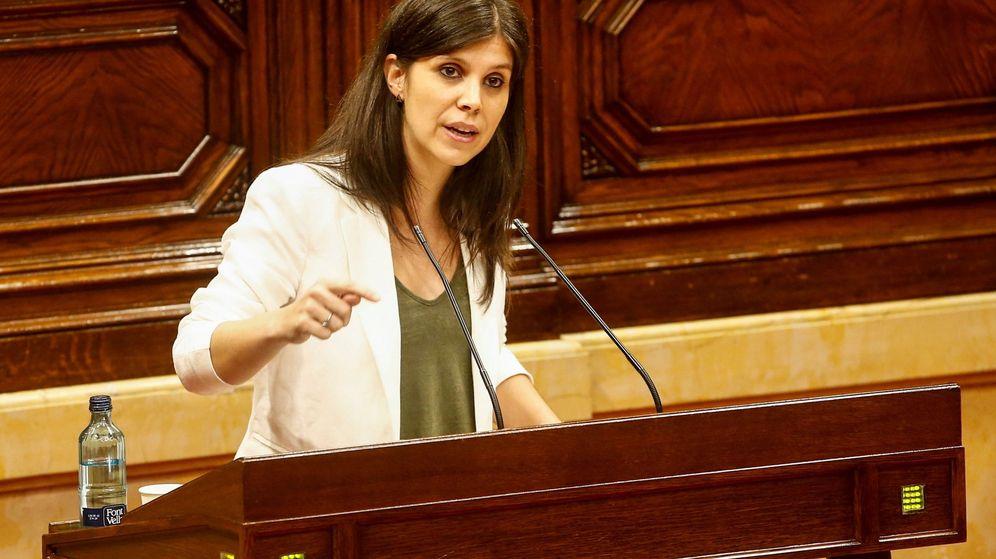 Foto: La diputada y portavoz de ERC en el Parlament, Marta Vilalta. (EFE)