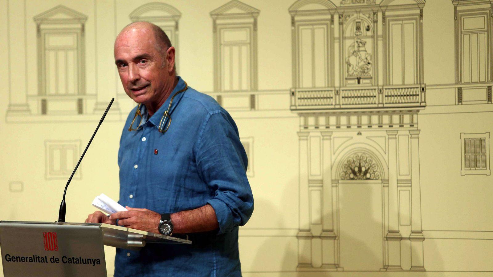 Foto: El exdiputado y cantautor Lluís Llach. (EFE)