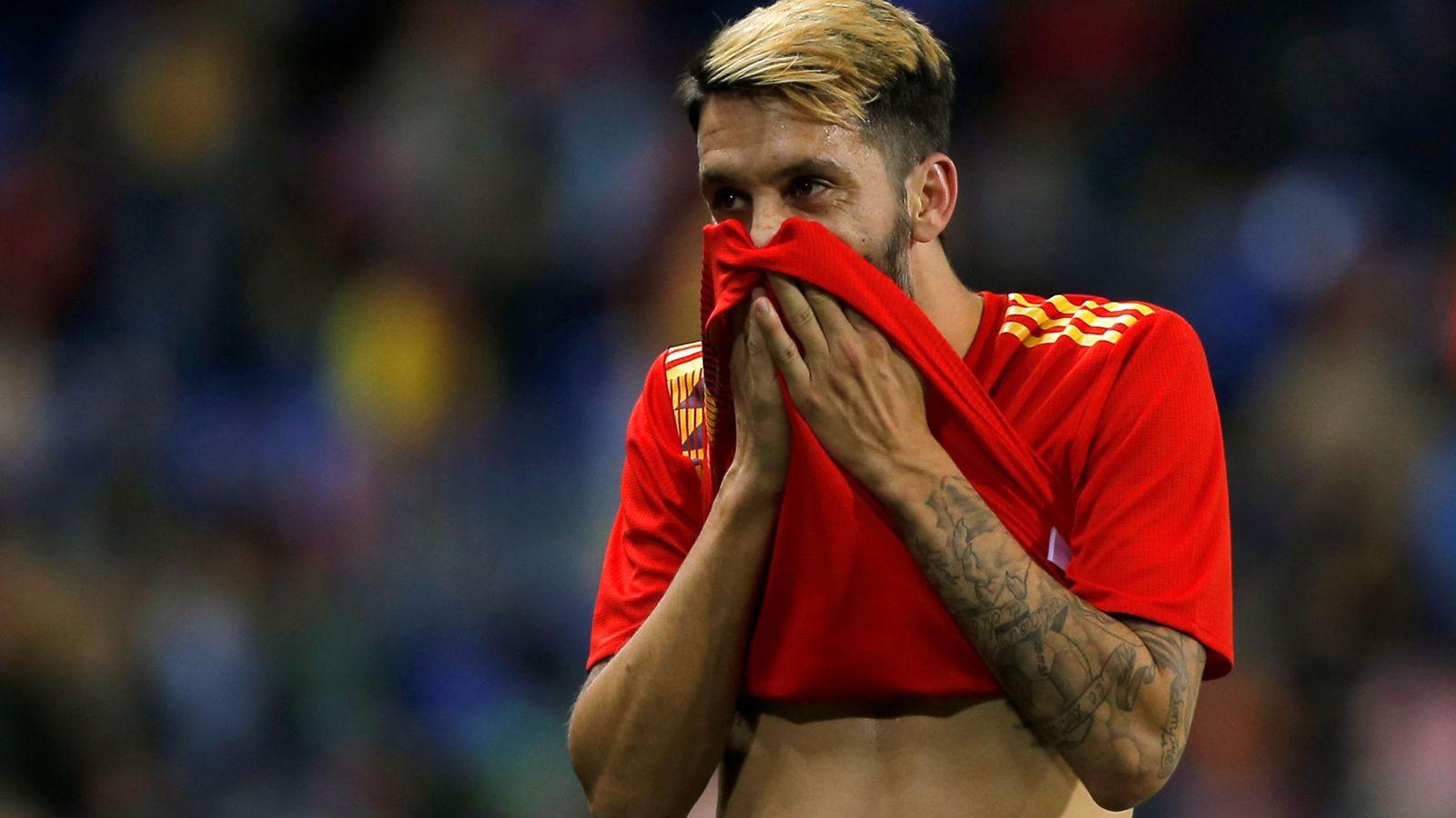 Foto: Luis Alberto debutó con la selección absoluta en el España-Costa Rica. (Reuters)
