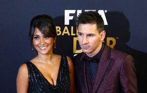 Balón de Oro: presentadora malagueña y un vestido de 800 € para la novia de Messi