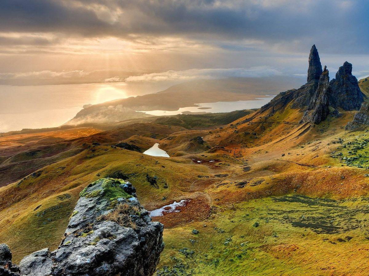 Foto: Fotografía de archivo de un paisaje escocés. (Pixabay)