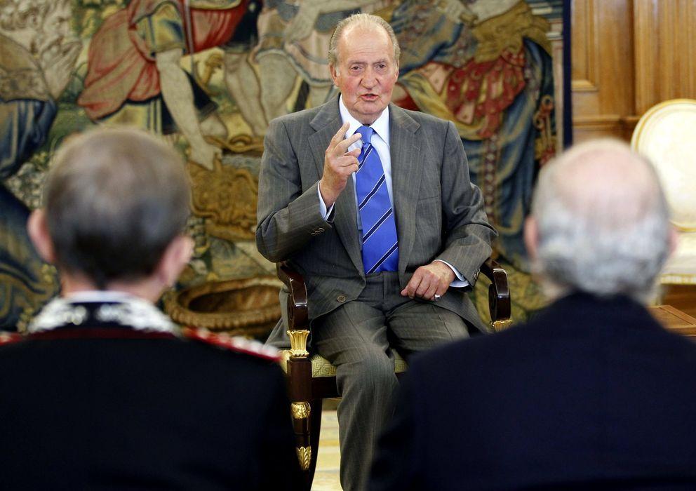 Foto:  El Rey Juan Carlos en el Palacio de La Zarzuela (EFE9