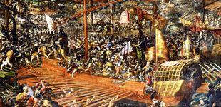 Post de Infierno en Lepanto, la batalla naval más sangrienta de la historia