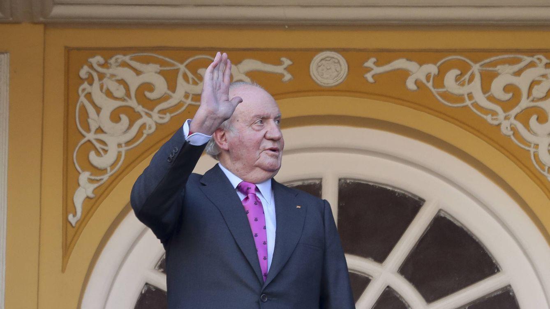 Foto: El rey Juan Carlos en la pasada feria de San Isidro. (Gtres)
