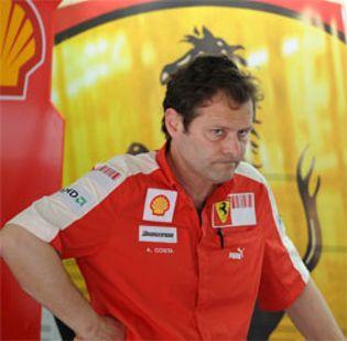 Foto: Costa se desvincula definitivamente de Ferrari