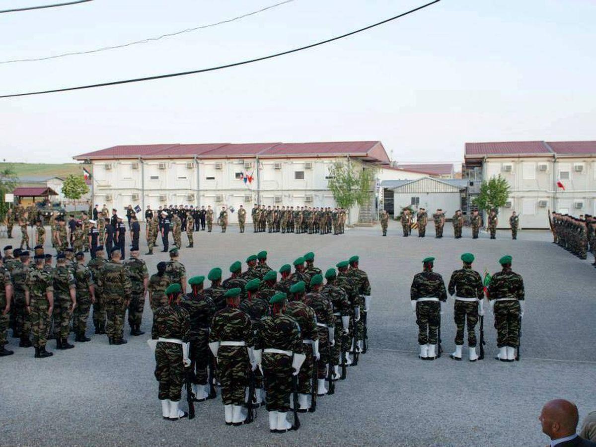 Foto: Intervención de las Fuerzas de Marruecos. (FB Fuerzas Auxiliares de Marruecos)