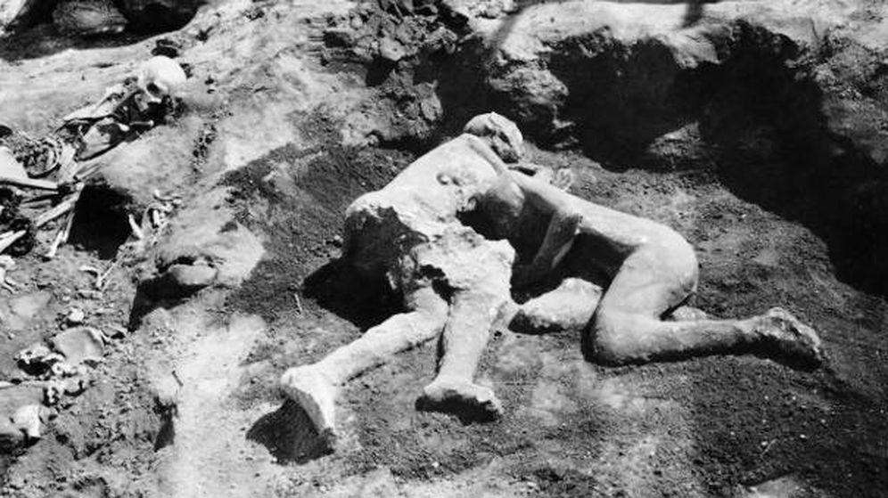 Foto: Los amantes de Pompeya