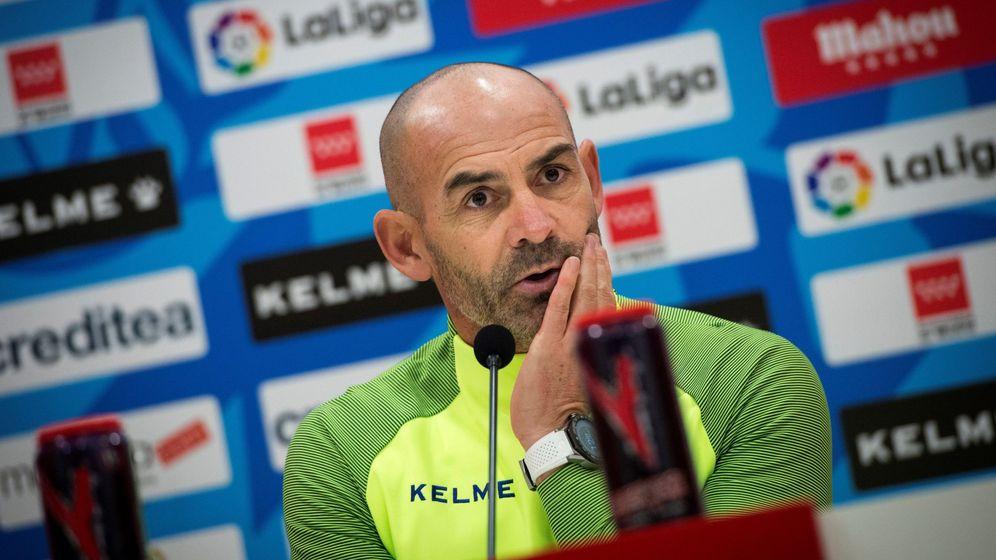 Foto: Paco Jémez, en una rueda de prensa como técnico del Rayo Vallecano. (EFE)
