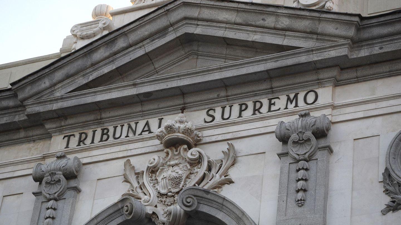 Fachada del Tribunal Supremo. (EFE)