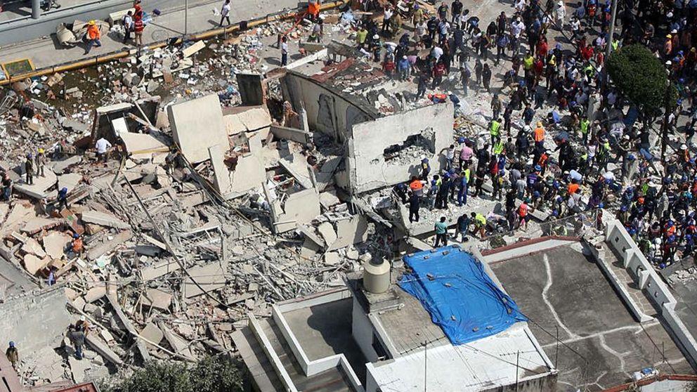 Tragedia en el Colegio Enrique Rebsamen de México: 20 niños muertos por el terremoto