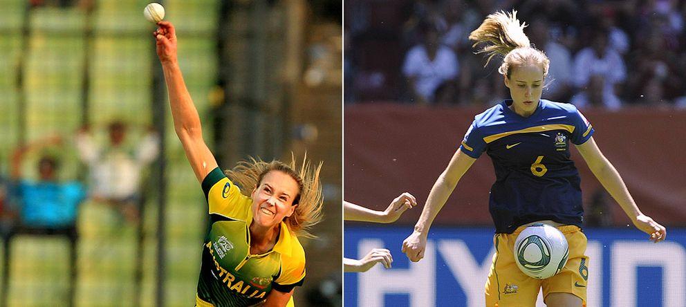 Ellyse Perry, la deportista por excelencia que triunfa con Australia en cricket y fútbol