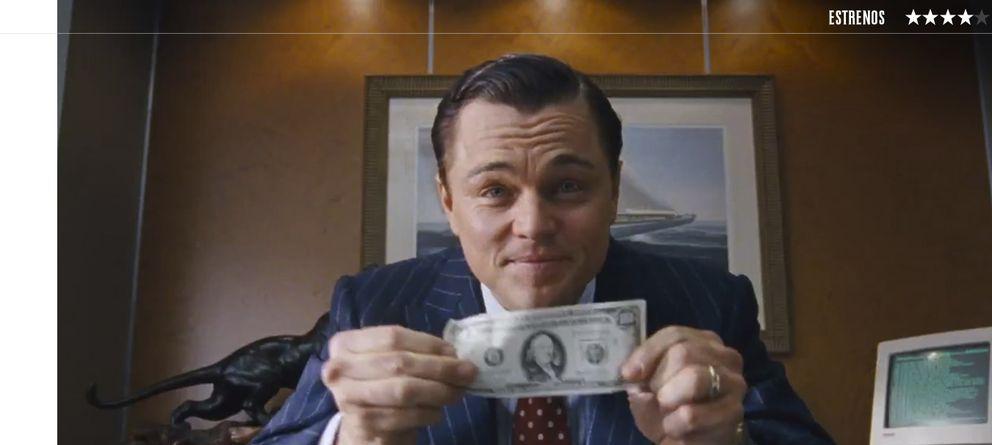 Foto: Leonardo DiCaprio es 'El lobo de Wall Street'