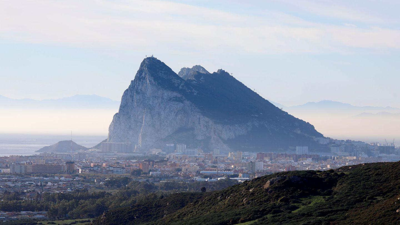 El Peñón de Gibraltar, desde San Roque. (Reuters)
